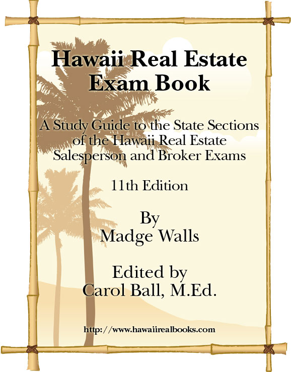 Hawaii Real Estate Exam Book
