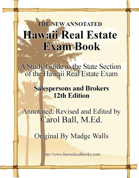 Hawaii Real Estate Book